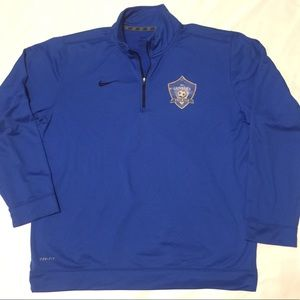 Nike Men's Dri Fit Pullover Long Sleeve Large